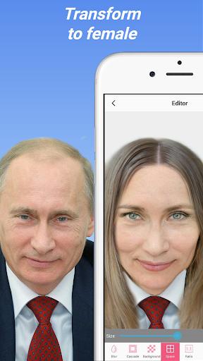 Face Changer Photo Gender Editor 4.1 screenshots 6