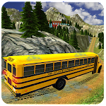 Drive Mountain School Bus Icon