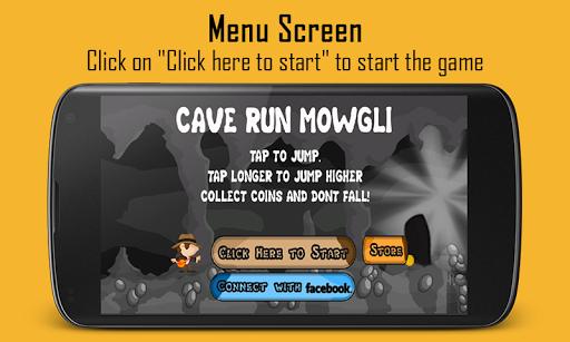 CaveRun Mowgli