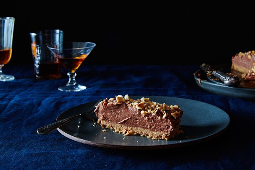Nigella Lawsons No-Bake Nutella Cheesecake