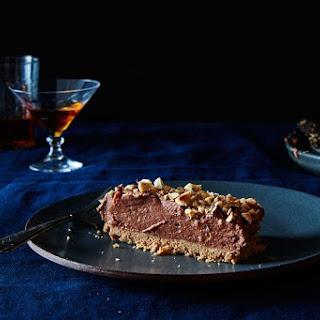 Nigella Lawson's No-Bake Nutella Cheesecake.