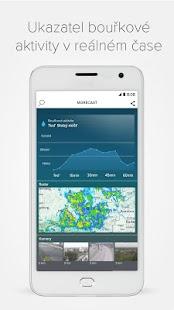 Morecast™ - Předpověď počasí s radarem a widgety - náhled