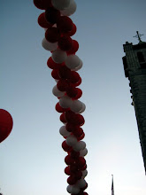 Photo: Balloon Arch at the Granite Church as we start the walk