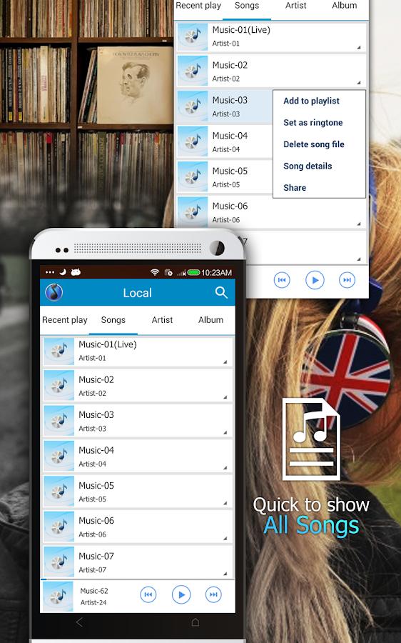 Music Player- screenshot