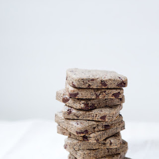 Toasted Buckwheat and Chopped Chocolate Sablés