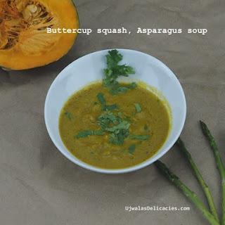 Pumpkin, Asparagus Soup