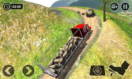 Offroad Farm Animal Truck Driving Game 2018 download 2