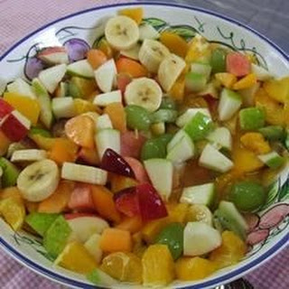 Very Easy Fruit Salad.
