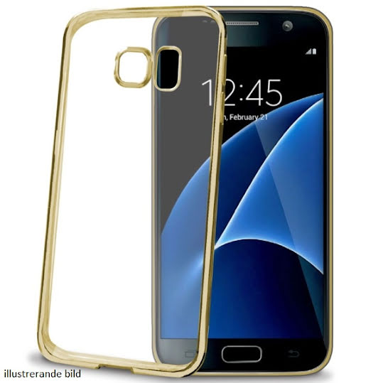 Celly Cover Laser Samsung Galaxy S7 Guld