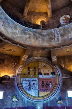 Photo: Inside the Desert View Watchtower, South Rim of Grand Canyon Nation Park, Arizona, USA