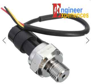 Pressure transducer in Digital Pressure Gauge (converts pressure into electrical analog signal)