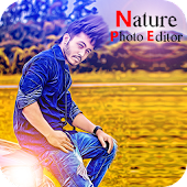 Nature Photo Editor : Frame, Sticker, Text