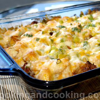 Spicy Potato and Chicken Casserole