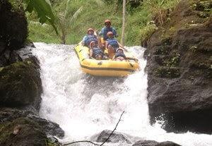 Bali rafting