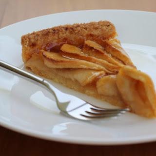 Apple Pie with Heavy Cream.