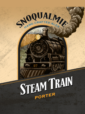 Logo of Snoqualmie Steam Train Porter