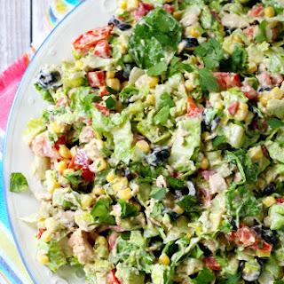 Mexican Chopped Tuna Salad.