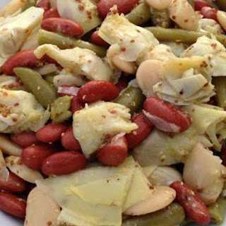 Three Bean and Artichoke Salad