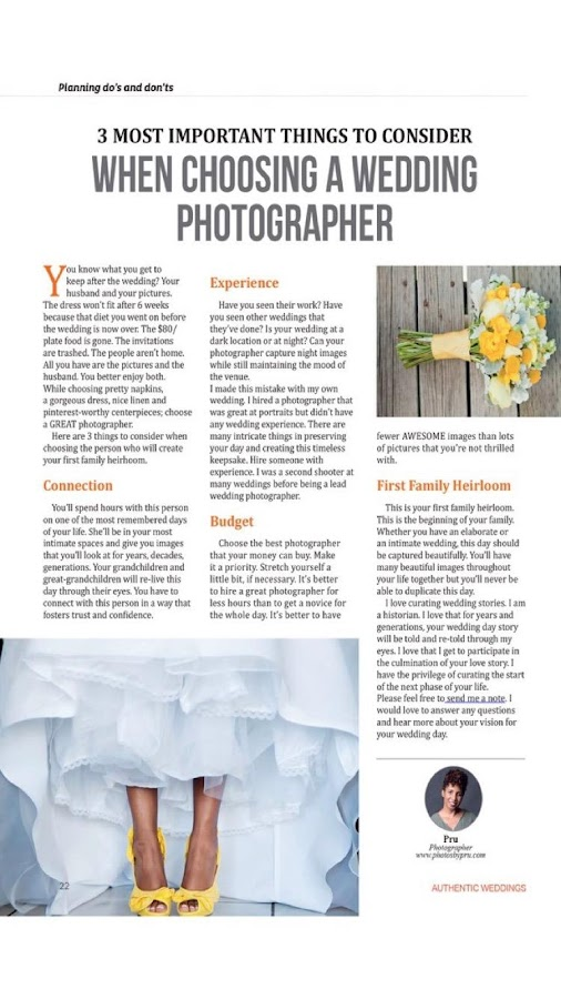 Authentic Weddings Magazine- screenshot