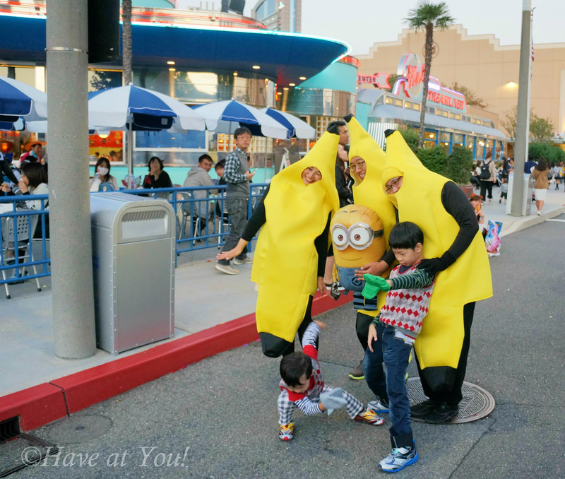 cosplay bananas