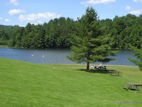Photo: Beautiful green grass at Waterbury Center State Park