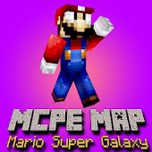 MCPE Mod Super Mario Galaxy