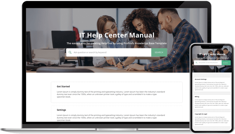 Reduce help desk call with promote your self-service portal