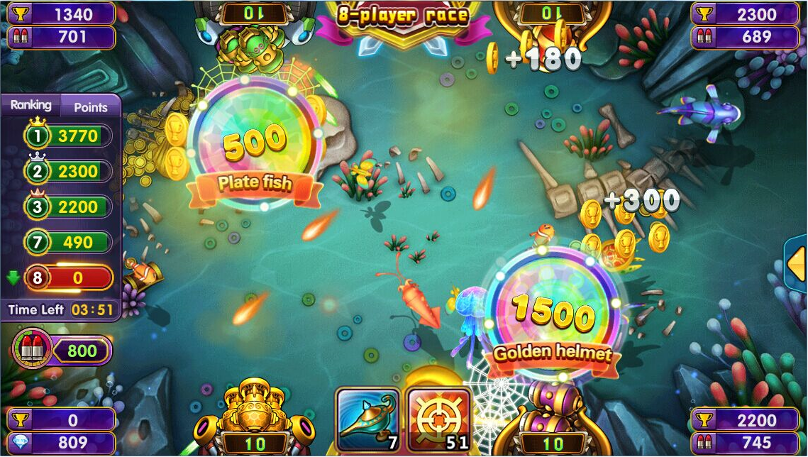Fishing games online hacked gamesworld for Game and fish