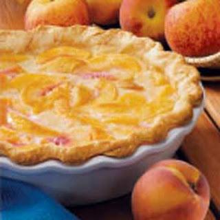 Easy Peach Pie
