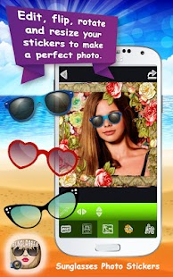 Sunglasses Photo Stickers - náhled