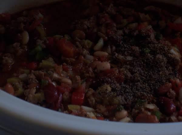 Turkey Chili In The Crockpot