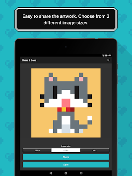 8bit Painter - Super Simple Pixel Art App