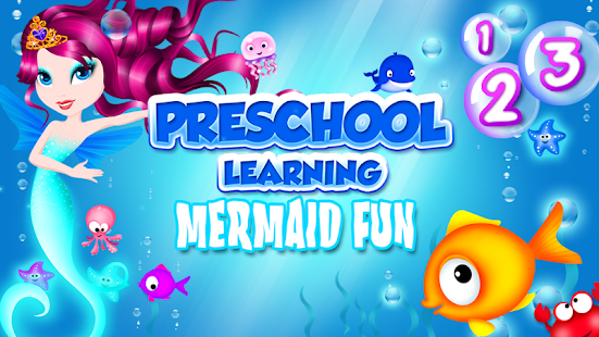 Preschool Learning Mermaid Fun- screenshot thumbnail