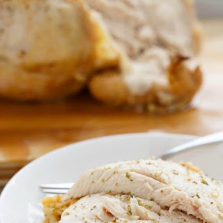 Whole Chicken and Rice in the Slow Cooker.