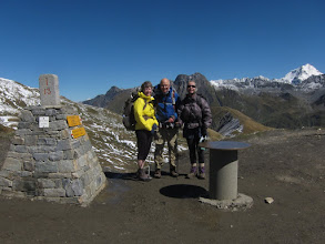 Photo: We made it! Col de Ferret, 8,323 ft.