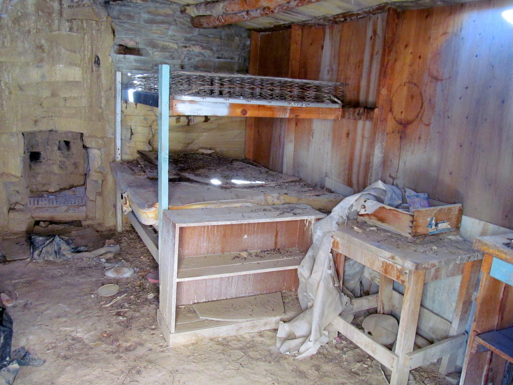 Photo: Bunks in the cabin