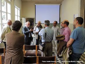Photo: Primera ronda de visita guiada - preparación