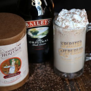 Boozy Hot Chocolate recipe and touring Washington DC with American Heritage Chocolate!