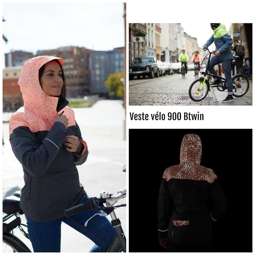 vest vélo Btwin 900