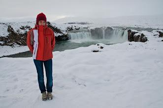 Photo: Un frío de los buenos. Las cascadas espectaculares. En invierno por lo que he visto se congelan prácticamente enteras.