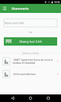 Screenshot of e-food