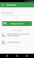 Screenshot of e-food