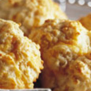 Cheese-Garlic Biscuits (lighter recipe)