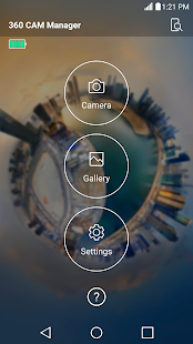 LG 360 CAM Manager – Miniaturansicht des Screenshots
