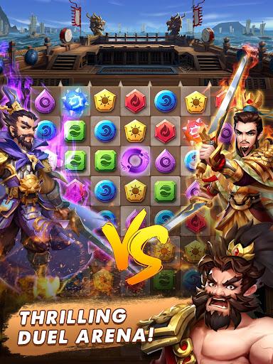 Three Kingdoms & Puzzles: Match 3 RPG 1.5.0 screenshots 8