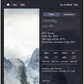KWLP Kustom OSX Yosemite theme