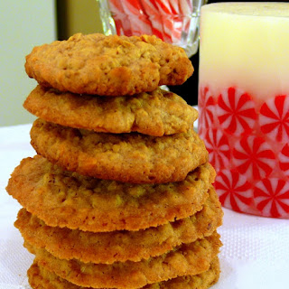 Chinese-Five Spice Oatmeal Cookies