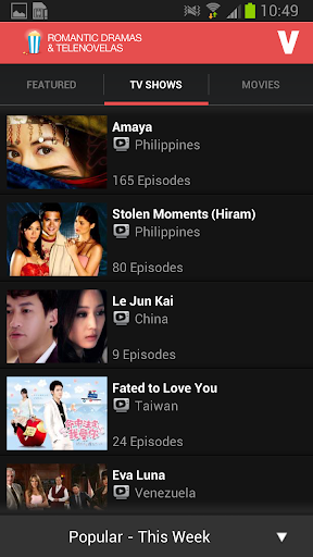 Asian Drama and Telenovela screenshot 2