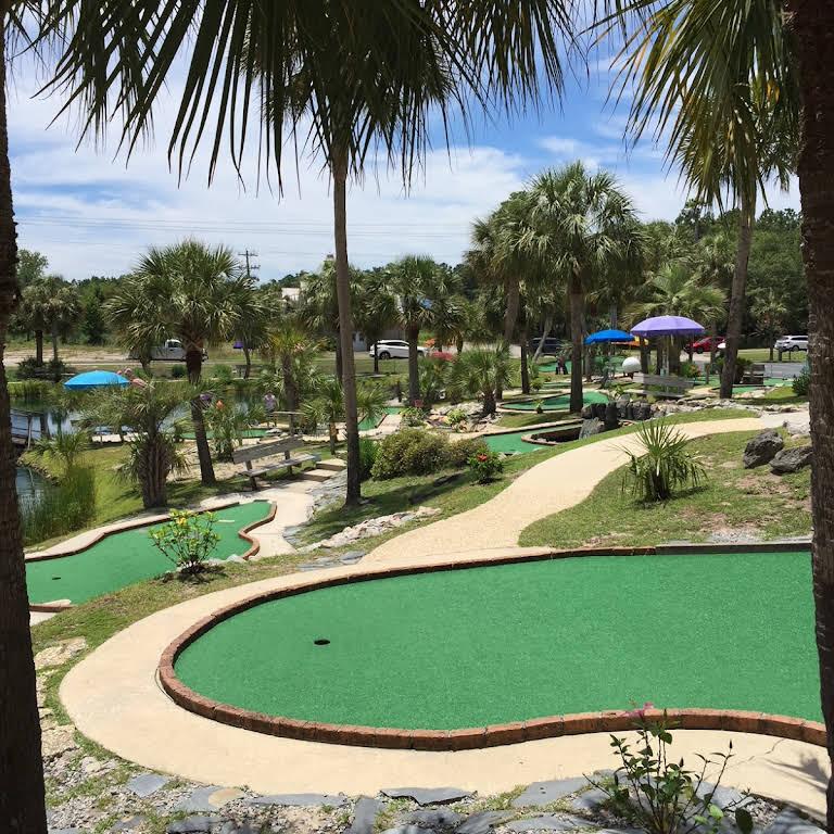 Tropical Adventure Mini Golf - Miniature Golf Course in Calabash