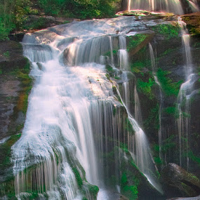 Bald Falls by William Schmid - Landscapes Waterscapes